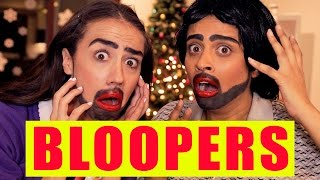 BLOOPERS: Getting Freaky on Christmas (ft. Miranda Sings)