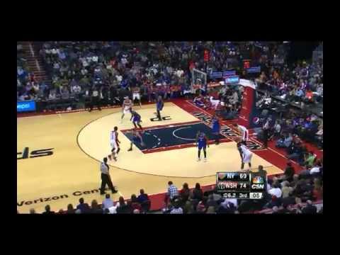NBA CIRCLE - New York Knicks Vs Washington Wizards Highlights 23 Nov. 2013 www.nbacircle.com