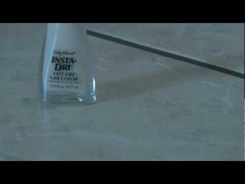 How To Repair A Hole Or Chip In A Tile | How To Save Money ...