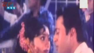 Oi Chad Mukhe Jano Lagena Grohon | Bangla Movie Song | By Shabnur & Shakil Khan