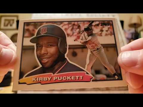 More Kirby Puckett and Vinyl Records!