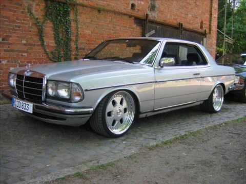 mercedes benz w123 280ce v8 old school mercedes tuning. Black Bedroom Furniture Sets. Home Design Ideas