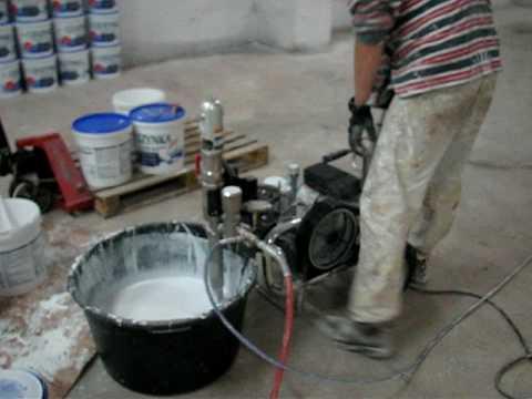 Malowanie agregatem hydrodynamicznym SPEEFLO