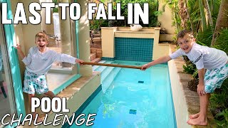 LAST TO FALL IN THE POOL WINS $$$ Twin vs Twin