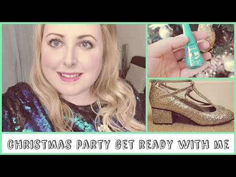 Christmas Party Get Ready With Me