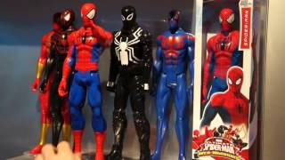 Ultimate Spider Man Web Warriors Titan Heroes and Villains