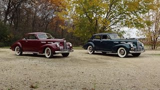 Two 1940 LaSalle Series 52 Coupe & 4 Door & Engine Sound on My Car Story with Lou Costabile
