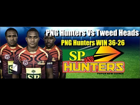 THE PNG Hunters have returned to the winner's circle with a 36-26 victory over Tweed Heads Seagulls in their round seven Intrust Super Cup match at Kalabond ...