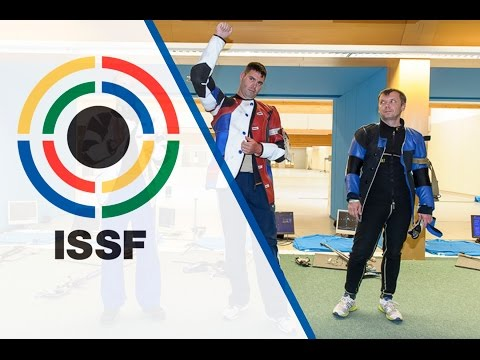 Finals 50m Rifle Prone Men - 2015 ISSF Rifle and Pistol World Cup in Munich (GER)
