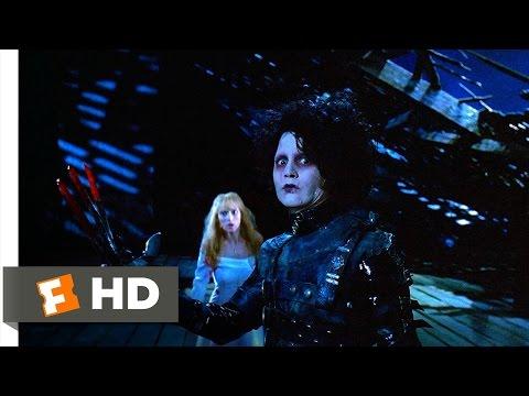 Edward Scissorhands (1990) - Jim Attacks Edward Scene (4/5) | Movieclips