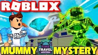 Roblox   DU HÀNH THỜI GIAN TIÊU DIỆT XÁC ƯỚP AI CẬP - Mummy Mystery   KiA Phạm