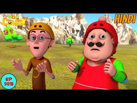 Bravery Competition - Motu Patlu in Hindi - 3D Animated cartoon series for kids thumbnail