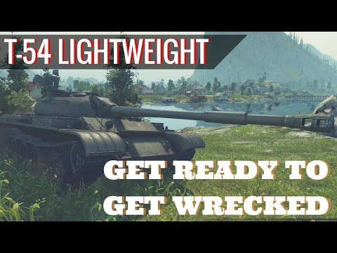 t54 Lt is how you spell OP World of Tanks Blitz