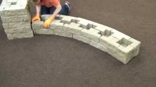 FerrariBK TANGO® - realizzazione di un muretto curvo (it)