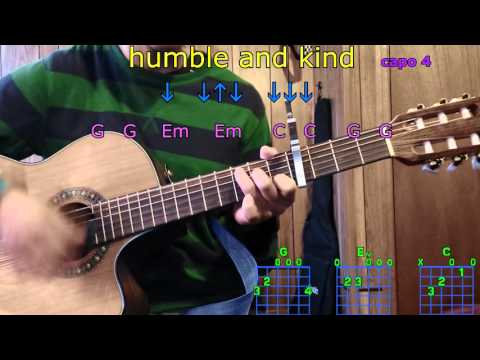 humble and kind tim mcgraw guitar chords