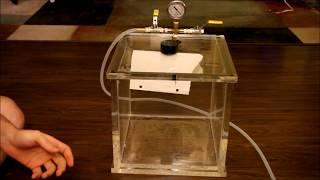 Vacuum Chamber Demo 1