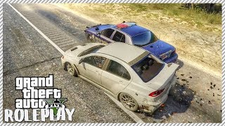 GTA 5 ROLEPLAY - RAMMING POLICE OFF THE ROAD!! | Ep. 178 Civ