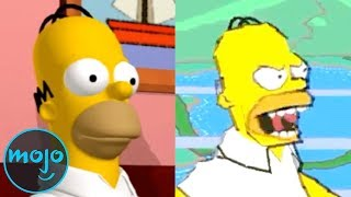 Top 10 Best and Worst Simpsons Video Games