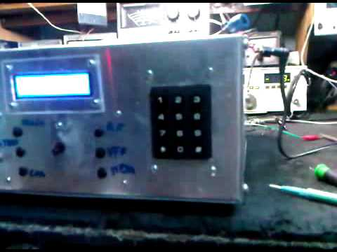 Home Brew QRP  HF Multiband BITX G6LBQ .......Rx Testing On 40 m Band