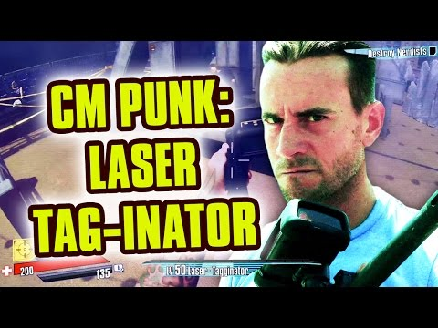 CM PUNK: LASER TAG INATOR Nerdist SDCC