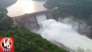Tourists Throng To Srisailam As Dam Gates Open Due To Heavy Inflow  - netivaarthalu.com