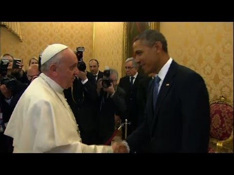 Obama meets Pope Francis for first time