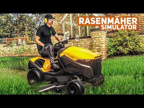 Rasenmäher Simulator #2: Weide mähen mit dem Aufsitzrasenmäher!   Lawn Mowing Simulator