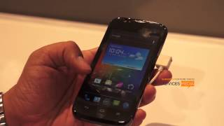 Huawei Ascend P1 Review Demo Apps Features & Hands-On at CES 2013