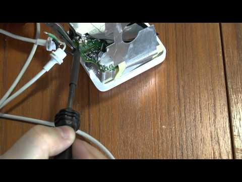 How to repair an Apple MacBook power supply (MagSafe)