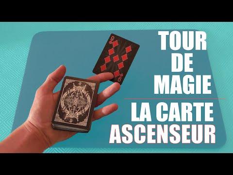 Tour de magie: La carte ascenseur