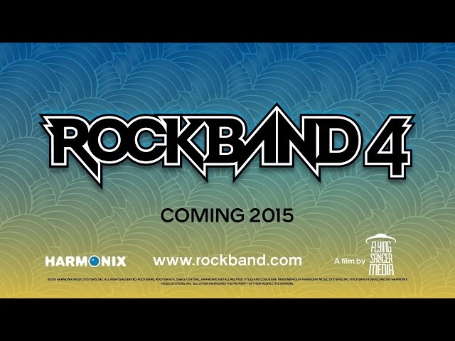 Rock Band 4: Behind the Scenes