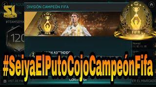 ¡¡LLEGAMOS A CAMPEÓN FIFA DE MANERA AGÓNICA!! #SeiyaElPutoCojoCampeónFifa [FIFA18 MOBILE] 🏆😭🏆😭🏆