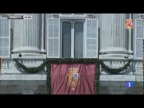The Proclamation of King Felipe VI 2014