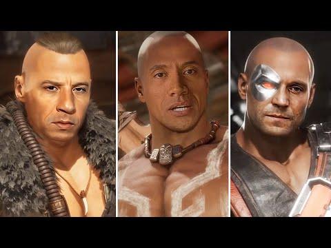 Mortal Kombat 11 Starring Vin Diesel, The Rock, Jason Statham,Clint Eastwood,Henry Cavill [DeepFake]
