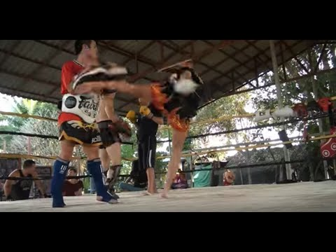 Muay Thai Training Ismet Himmet Image 1
