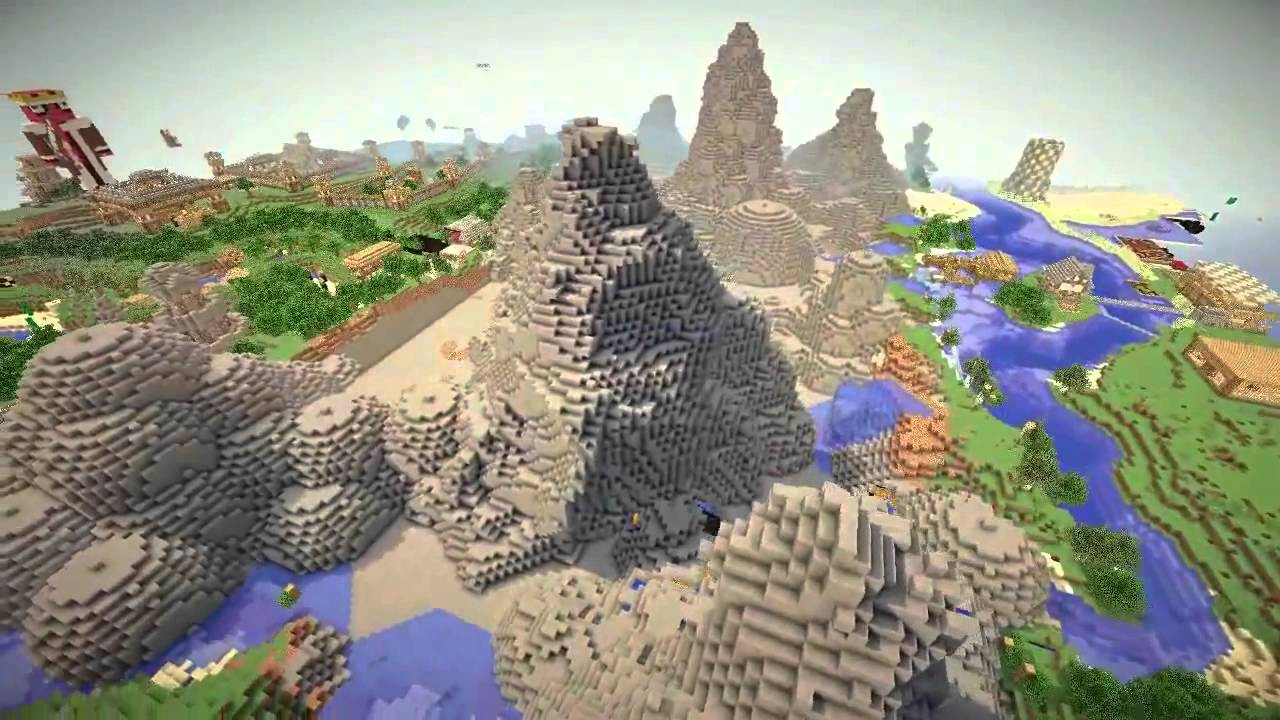 Minecraft Mountain Village
