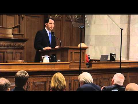Walker's Budget Includes Income Tax Cut, School Voucher Expansion