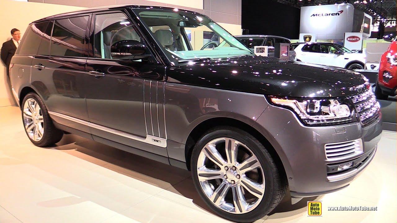 2015 Range Rover SVO Autobiography - Exterior and Interior ...