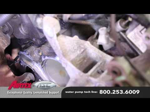 How to Install a Water Pump - Ford 3.0L V6 FWD WP-9038 AW4094