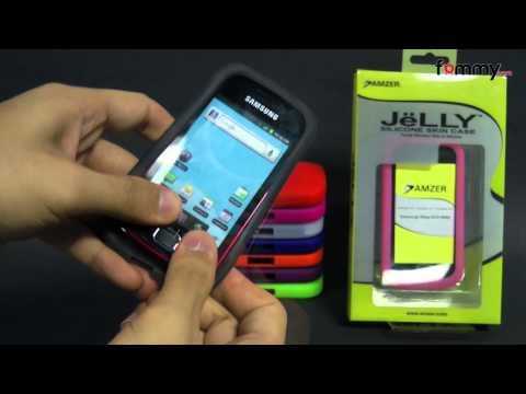Amzer® Silicone Skin Jelly Case Review For Samsung Repp in HD