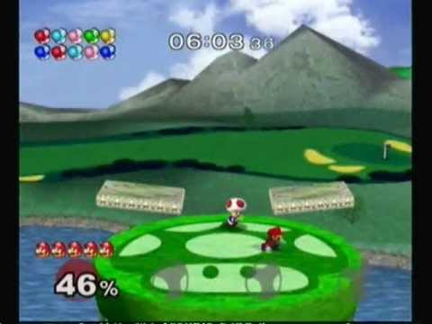 Super Smash Bros. Melee: Adventure Mode with Mario (Normal)