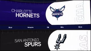 San Antonio Spurs vs Charlotte Hornets Game Recap | 1/14/19 | NBA