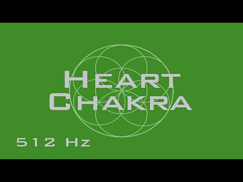 Heart Chakra Meditation - Balance and Heal the Heart Chakra - Meditation Music - Binaural Beats