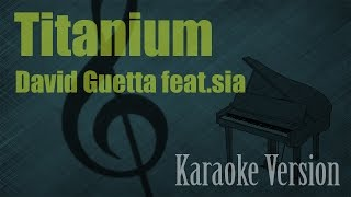 David Guetta Ft Sia Titanium Karaoke Piano Version Ayjeeme Karaoke