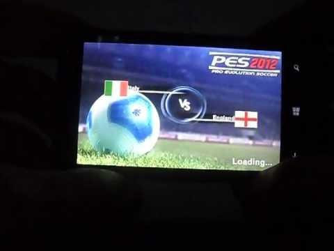 pes 2012 gameplay on nokia lumia 520 (512 mb ram) | doovi