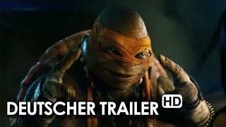 TEENAGE MUTANT NINJA TURTLES Trailer (2014) - Deutsch | German HD