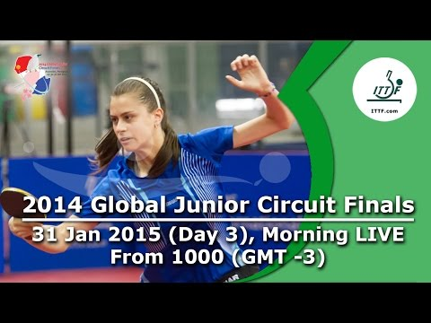 2014 ITTF Global Junior Circuit Finals - Day 3 LIVE, Morning Session