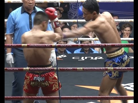 Muay Thai Fight - Yodlekphet Vs Genji, Rajadamnern Stadium Bangkok - 23rd December 2015
