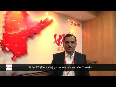Words of Appreciation  by India's leading telecom operator and Indus Customer