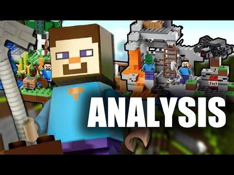 LEGO Minecraft : The Cave & The Farm - Analysis
